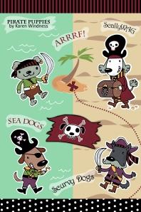 Pirate Puppies Karen Windness