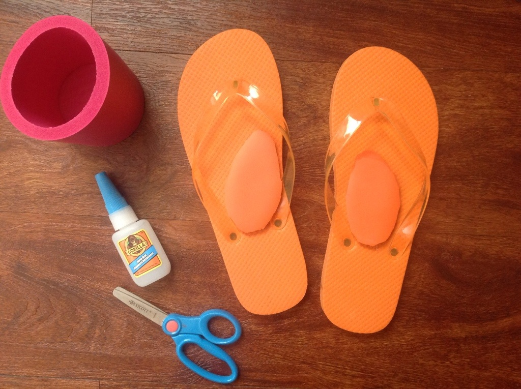 5dd40c94feff Flip Flops with Arch Support for Under  2 – Random Acts of ...