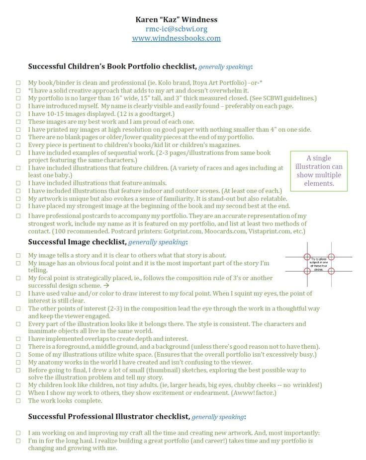 portfolio-checklist