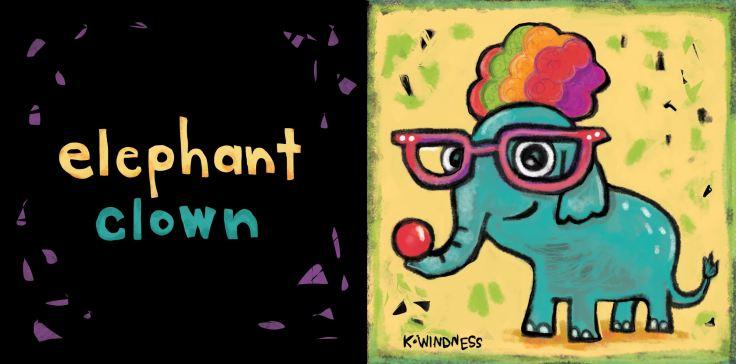 elephant-clown